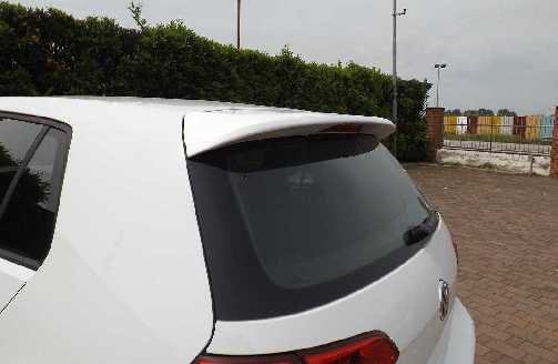 VOLKSWAGEN GOLF VII  10/2012-  SPOILER POST TETTO senza primer - altra categoria