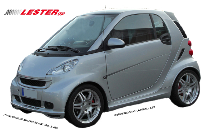 SMART FOR TWO 2007-2014   (451)  MINIGONNE LATERALI - altra categoria