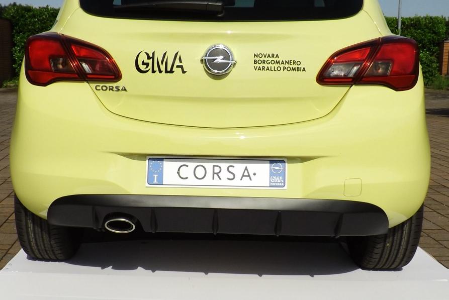 OPEL CORSA E  2015-  ESTRATTORE ARIA POSTERIORE  3/5p