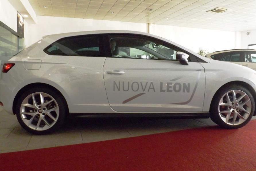 SEAT LEON 2014-  MINIGONNE LATERALI 3porte