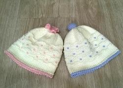 Cappellini e guantini Lana e Cotone