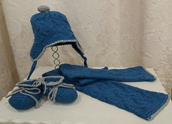 Completini sciarpe / cappello / babbucce